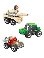 cheap -Building Blocks 12 pcs Military compatible Legoing Simulation Military Vehicle All Toy Gift / Kid's
