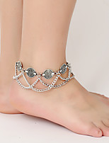 cheap -Cosplay Ankle Bracelet Bohemian Alloy Masquerade For Masquerade Party / Cocktail Halloween Carnival Women's Costume Jewelry Fashion Jewelry