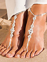 cheap -Indian Girl Ankle Bracelet Bohemian Alloy Masquerade For Masquerade Party / Cocktail Halloween Carnival Women's Costume Jewelry Fashion Jewelry