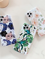 cheap -Case For Apple iPhone 11 / iPhone 11 Pro / iPhone 11 Pro Max Shockproof / Frosted Back Cover Flower TPU
