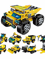 cheap -Building Blocks 310 pcs Military compatible Legoing Simulation Wheel Excavator Climbing Car All Toy Gift / Kid's