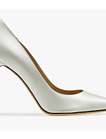 cheap -Women's Wedding Shoes Stiletto Heel Pointed Toe Synthetics Spring & Summer Silver