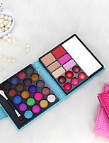 cheap -32 Colors Dry / Matte Non Toxic / Safety / Convenient Blush / EyeShadow China Sweet / Fashion Kits / Durable / Youth School / Date / Birthday Party Quadrate Makeup Cosmetic