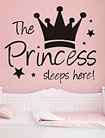 cheap -Decorative Wall Stickers - Plane Wall Stickers Characters / Princess Nursery / Kids Room
