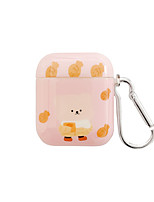cheap -Airpods Case Cover and Skin IMD Technology Protective Cover Case Compatible for Airpods (Cute Cartoon Skin)