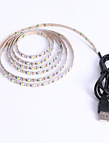 cheap -2m String Lights 120 LEDs 2835 SMD 8mm Warm White White Halloween Christmas Party Decorative Holiday USB Powered