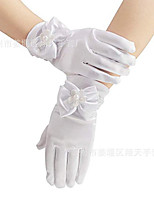 cheap -Gloves Lace Fingertips Satin For Bride Cosplay Halloween Carnival Women's Costume Jewelry Fashion Jewelry