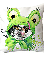 cheap -1 pcs Polyester Pillow Cover Modern Cuddly Dog Pet Pillow Cover Sofa Cushion Cover Animal Household Pillow Cover Pillow Cover Without Core
