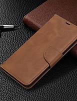 cheap -Case For Samsung Galaxy S20 Ultra / S20 Plus / S10 Plus Wallet / Card Holder / with Stand Full Body Cases  Solid Colored PU Leather Case For Samsung S9 / S9 Plus / S10E /S10 / S20 / S8 / S8 Plus