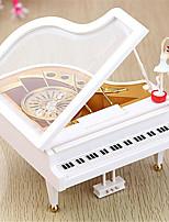 abordables -Boîte à musique Nouveauté Vacances Rétro Créatif En bois ABS + PC 1 pcs Enfant Tous Jouet Cadeau