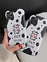 cheap -Case For Apple iPhone 11 / iPhone 11 Pro / iPhone 11 Pro Max Shockproof / Ultra-thin / Pattern Back Cover Animal PC