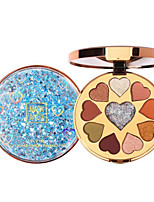 cheap -10 Colors Eyeshadow Eyeshadow Palette Matte Cosmetic EyeShadow Face Easy to Carry Women Best Quality Pro Ultra Light (UL) Girlfriend Gift Safety Convenient Daily Makeup Halloween Makeup Party Makeup
