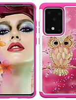 cheap -Case For Samsung Galaxy S20 / S20 Plus / S20 Ultra Shockproof / Pattern Back Cover Shell Owl TPU / PC for A50(2019) / A40(2019) / A30(2019) / Note 10 Pro