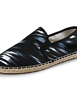 cheap -Men's Comfort Shoes Canvas Spring & Summer Casual Loafers & Slip-Ons Black / White / Black / Red / Black / Blue