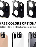 cheap -Camera Lens Cover For iPhone X XS Max Apperance Seconds Change To For 11 Pro Max Ultra-Thin Titanium Alloy Lens Protective Ring