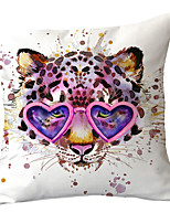 cheap -1 pcs Polyester Pillow Cover Modern Puppy Dog Pillow Cover Animal Sofa Pillow Stylish Splash Cushion Cover Animal Home Pillow Cover