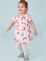 cheap -Kids Girls' Animal Dress Blushing Pink