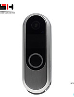 cheap -RSH 720P HD Wireless WIFI Doorbell Battery Door Camera Two Way Audio Intercom IP Door Bell Home Security APP Control