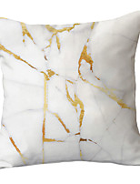 cheap -1 pcs Polyester Pillow Cover Simple Modern Gold Marble Texture Light Color Pillow Cover Sofa Pillow Throw Pillow Light Luxury Style Pillow Cover