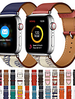 cheap -Apple Smart Watch Leathers Strap Series 5/4/3/2/1 iwatch Sport Business Bands High-end Fashion comfortable Health Genuine Leathers Wrist Straps