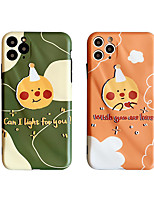 cheap -Case For Apple iPhone 11 / iPhone 11 Pro / iPhone 11 Pro Max Shockproof / Dustproof / Pattern Back Cover Lines / Waves / Cartoon TPU