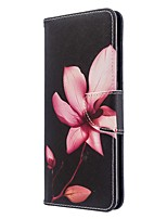 cheap -Case For Samsung Galaxy S20 Ultra / S20 Plus / S10 Plus Wallet / Card Holder / with Stand Full Body Cases Lotus Flower PU Leather Case For Samsung S9 / S9 Plus / S8 Plus / S10E /S7 Edge