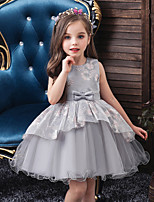 cheap -Princess Dress Girls' Movie Cosplay Cosplay Halloween Green / Blue / Pink Dress Halloween Carnival Masquerade Tulle Polyester