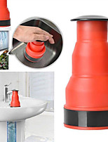 cheap -Plug gun silica gel orange drain dredge washbasin dredge super suction sewage dredge tool