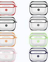 cheap -Case For AirPods Pro Shockproof / Frosted / Transparent Headphone Case Hard