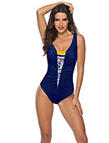 cheap -Women's One Piece Swimsuit Swimwear Breathable Quick Dry Sleeveless Swimming Water Sports Summer / High Elasticity
