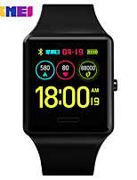 cheap -OUKITEL 1526 Men Smartwatch Android iOS Bluetooth Waterproof Heart Rate Monitor Blood Pressure Measurement Sports Smart Pedometer Call Reminder Sleep Tracker