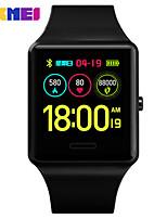 abordables -OUKITEL 1526 Hommes Montre Connectée Android iOS Bluetooth Imperméable Moniteur de Fréquence Cardiaque Mesure de la pression sanguine Sportif Elégant Podomètre Rappel d'Appel Moniteur de Sommeil