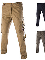 cheap -Men's Hiking Pants Hiking Cargo Pants Winter Outdoor Breathable Quick Dry Comfortable Pants / Trousers Bottoms Hunting Fishing Camping / Hiking / Caving Black Brown Army Green 28 29 30 31 32 Standard