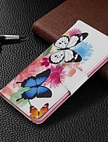 cheap -Case For Samsung Galaxy S20 Ultra / S20 Plus / S10 Plus Wallet / Card Holder / with Stand Full Body Cases Butterfly PU Leather Case For Samsung S9 / S9 Plus / S8 Plus / S10E /S7 Edge