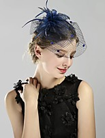 cheap -Queen Elizabeth The Marvelous Mrs. Maisel Retro Vintage Kentucky Derby Hat Fascinator Hat Women's Costume Hat Navy Blue Vintage Cosplay Party Party Evening