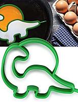 abordables -forme de dinosaure moule à cake silicone oeuf crêpes anneaux cuisine crêpière oeuf au plat outils petit déjeuner silicone moule à oeufs