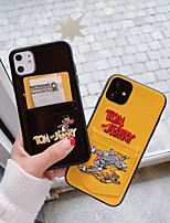 cheap -Case For Apple iPhone 11 / iPhone 11 Pro / iPhone 11 Pro Max Card Holder / Shockproof Back Cover Cartoon PU Leather