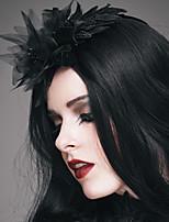 cheap -Plague Doctor Retro Vintage Steampunk Headwear Women's Costume Head Jewelry Black Vintage Cosplay Party