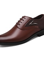 cheap -Men's Formal Shoes Synthetics Spring & Summer / Fall & Winter Business / Casual Oxfords Non-slipping Black / Brown