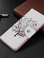cheap -Case For Samsung Galaxy S20 Ultra / S20 Plus / S10 Plus Wallet / Card Holder / with Stand Full Body Cases Tree PU Leather Case For Samsung S9 / S9 Plus / S8 Plus / S10E /S7 Edge