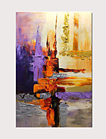 cheap -3D Knife Oil Painting Hand Painted Modern Abstract Colorful Decorative Artwork on Canvas with Stretched Frame Ready to Hang