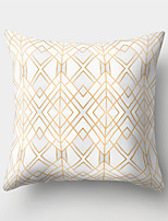 cheap -1 pcs Polyester Pillow Cover Northern Europe Wind Sand Hair Geometry Holds Pillow Cushion for Leaning on to Cover Sitting Room Ins Wind Bedhead Cushion for Leaning on to Cover Office to Protect Waist