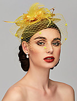 cheap -Queen Elizabeth Audrey Hepburn Retro Vintage Kentucky Derby Hat Fascinator Hat Women's Costume Hat Black / White / Purple Vintage Cosplay Party Party Evening