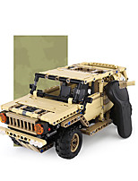cheap -Building Blocks 536 pcs Military compatible Legoing Simulation Climbing Car All Toy Gift / Kid's