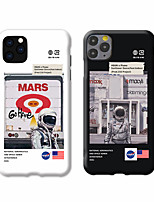 cheap -Case For Apple iPhone 11 / iPhone 11 Pro / iPhone 11 Pro Max Shockproof / Dustproof / IMD Back Cover Cartoon TPU