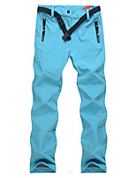 cheap -Women's Hiking Pants Softshell Pants Winter Outdoor Windproof Breathable Warm Pants / Trousers Bottoms Camping / Hiking / Caving Traveling Winter Sports Black Sky Blue Purple S M L XL XXL Regular Fit