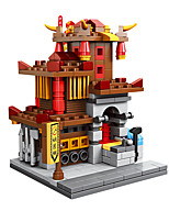cheap -Building Blocks 326 pcs Chinese Architecture compatible Legoing Simulation All Toy Gift / Kid's