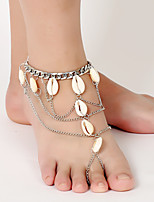 cheap -Ankle Bracelet Masquerade Bohemian Alloy For Cosplay Cosplay Halloween Carnival Women's Costume Jewelry Fashion Jewelry