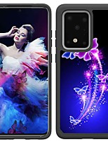 cheap -Case For Samsung Galaxy S20 / S20 Plus / S20 Ultra Shockproof / Pattern Back Cover Two Dancing Butterflies TPU / PC for A50(2019) / A40(2019) / A30(2019) / Note 10 Pro