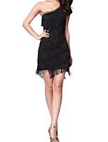 cheap -Latin Dance Dresses Women's Performance Polyester Tassel Dress